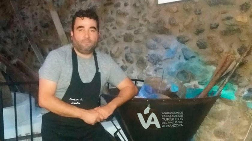 El nuevo presidente de la asociación, Óscar Muñoz.
