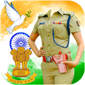 Republic Day Police Suit - Woman Police Dress