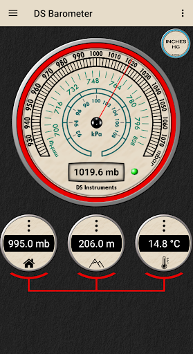 DS Barometer - Altimeter and Weather Information 3.75 screenshots 4