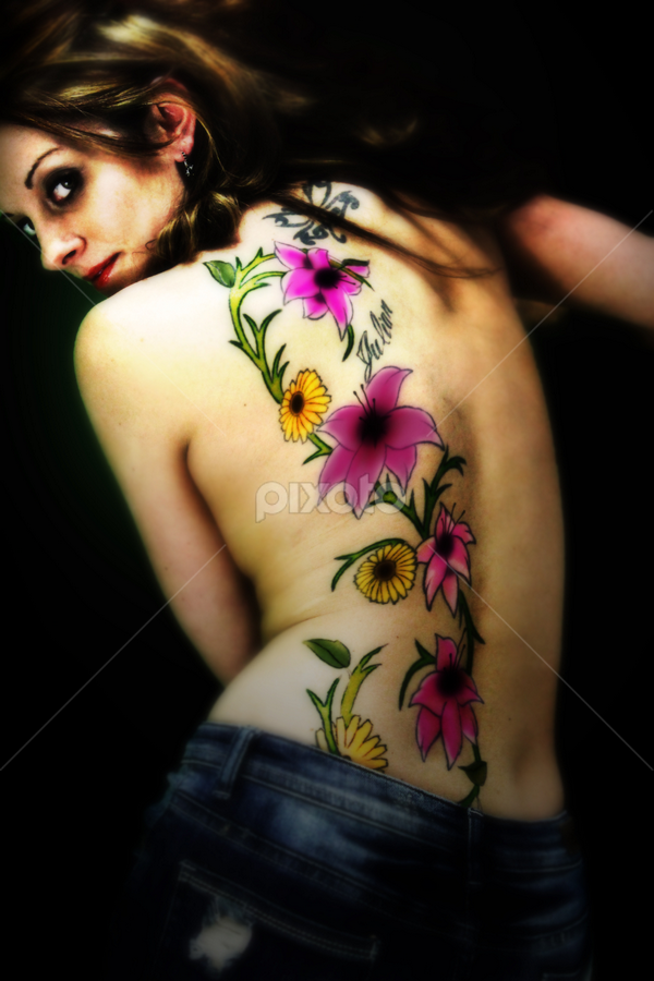 Gotta Love Flowers Body Art Tattoos People Pixoto