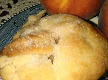 Peaches and Cream Dumpling