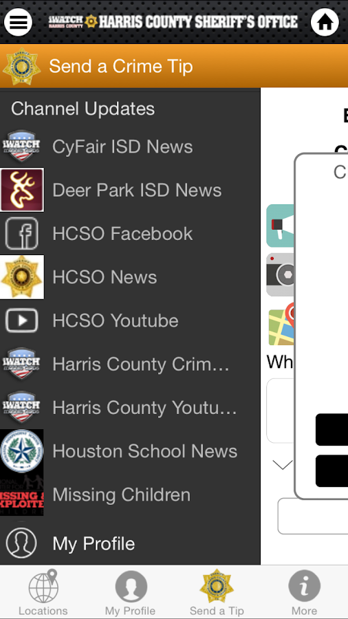 CloseWatch Harris County- screenshot