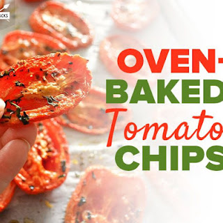 Oven-Baked Tomato Chips.