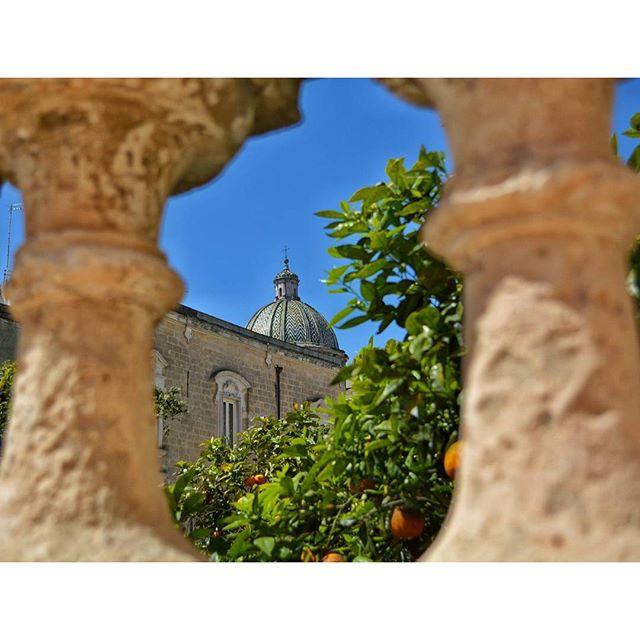 Cupola della Chiesa Matrice. (Basilica minore del Santissimo Rosario) vista da mura di cinta del Castello Imperiali. FrancavillaFontana p di roberto_palazzo