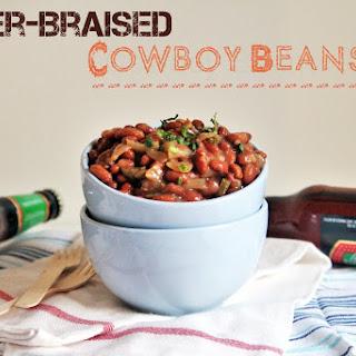Beer-Braised Cowboy Beans