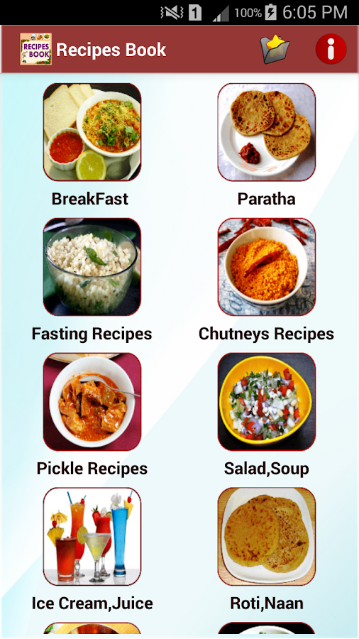 Recipes book android apps on google play recipes book screenshot forumfinder Gallery