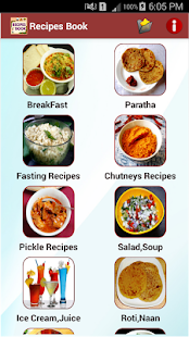 Recipes book apps on google play screenshot image forumfinder Image collections