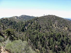 Photo: View south toward Culver Peak in the distance