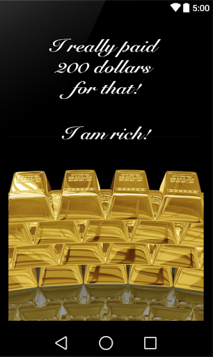 Я богат