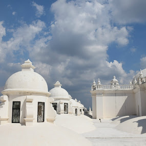 Rooftop, Cathedral of the Assumption, Leon, Nicaragua by Ada Irizarry-Montalvo - Buildings & Architecture Places of Worship