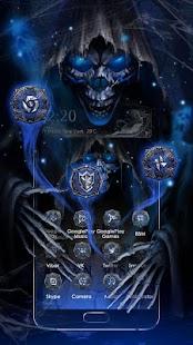 3D Grim Reaper Theme - náhled