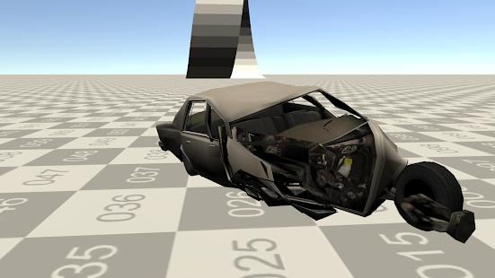 Deforming Car :Crash Simulator For PC And MAC