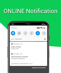 WA Toolkit - Online/Offline Notifications, DP Sync Screenshot