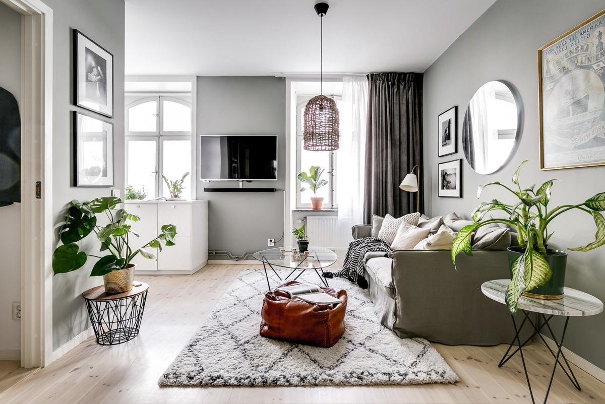 thiết kế nội thất chung cư Scandinavian