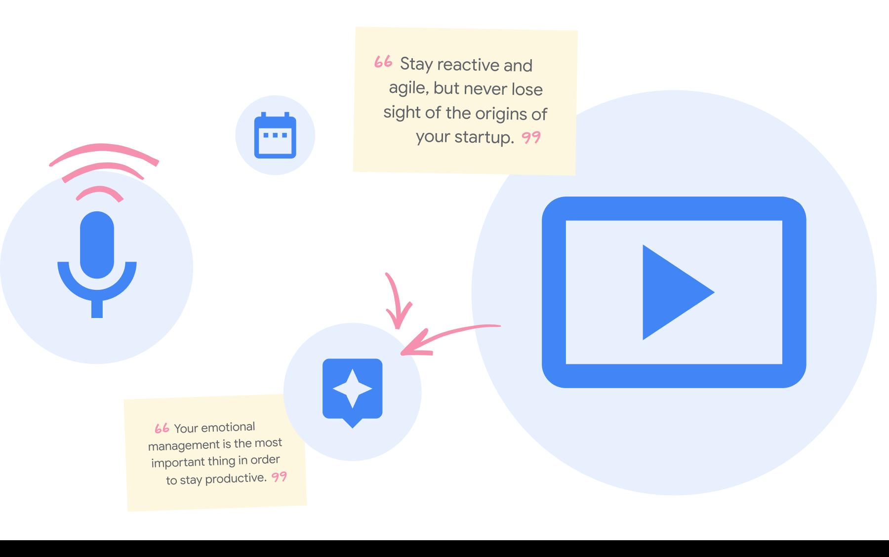 Google resources icons