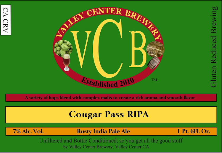 Logo of Valley Center Cougar Pass IPA