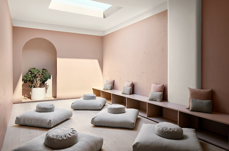 Standard Dose offers a meditation room that features the CoeLux skylight.