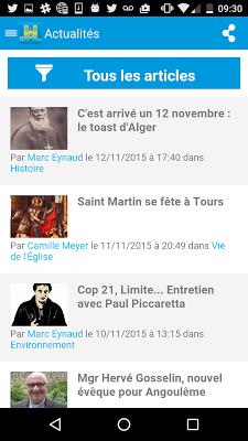 Radio Notre Dame - 100.7 FM - screenshot
