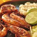 Shellfish food: seafood recipe icon