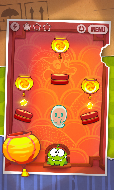 Cut the Rope – Screenshot