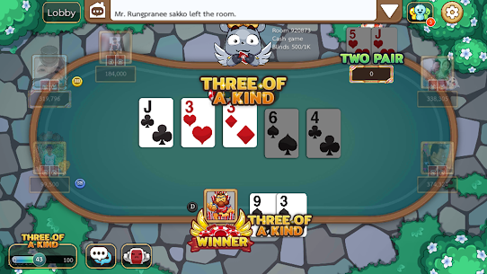 Free Poker Toon  Texas Online Card Game 7