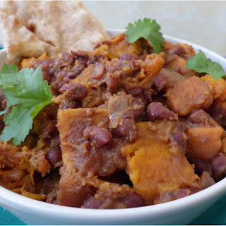 Slow-Cooked Adzuki Bean and Sweet Potato Curry.