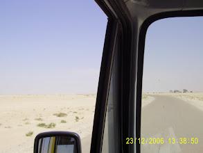 Photo: Die Wüste.