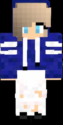 Hoodie Blue Nova Skin