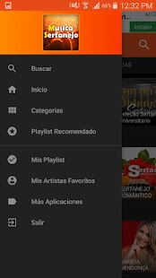 Sertanejo Music Screenshot