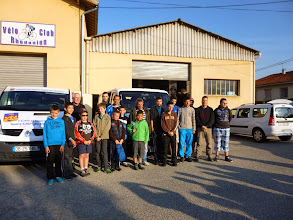 Photo: Le groupe des participants