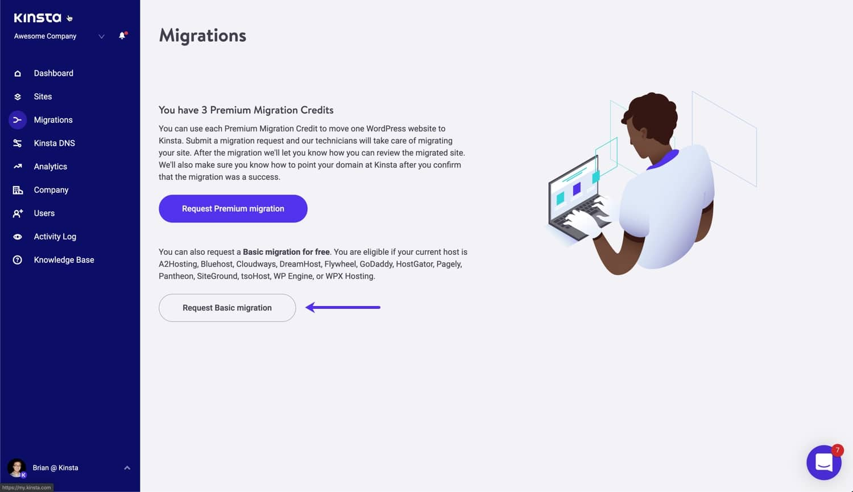 kinsta wordpress the best seo hosting migrations