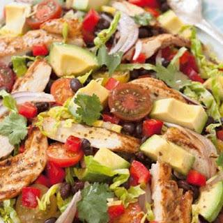 Chicken, Avocado And Bean Salad