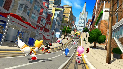 Download Game Sonic Forces: Speed Battle APK