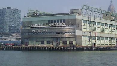 Photo: Pier 57. A neat art deco period building.