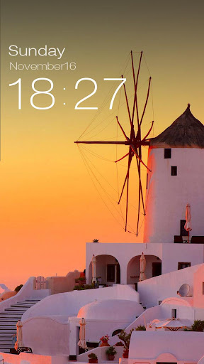 ZUI Locker Theme - Santorini