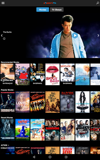 Popcornflixu2122- Movies.TV.Free 4.2 screenshots 5