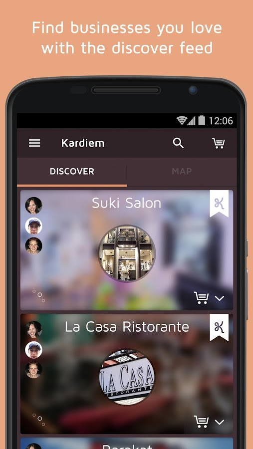 kardiem mobile gift cards- screenshot