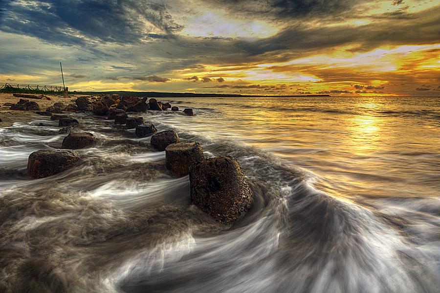 sunset by Tut Bolank - Landscapes Waterscapes ( bali, sea breeze, airport bali, kuta beach )