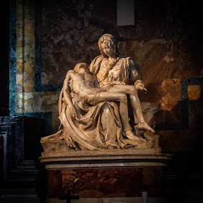by William Stansbury - Artistic Objects Other Objects ( rome, michealangelo, vatican, statue, mary & jesus, statute, italy,  )