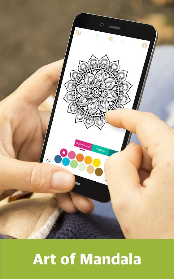 Coloring Book - Mandala, Sandbox, Pixel Coloring- screenshot