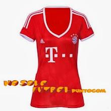 Photo: Bayern Münich 1ª Mujer * Camiseta Manga Corta * Camiseta Manga Larga * Camiseta Mujer * Camiseta Niño con pantalón
