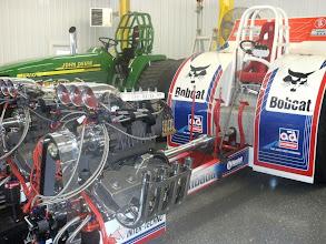 Photo: De grote zoals ie er nu bij staat. De voorste motoren zijn gecontroleerd.