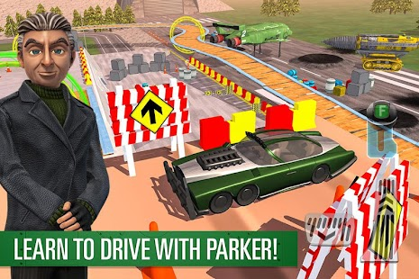 Parker's Driving Challenge Screenshot