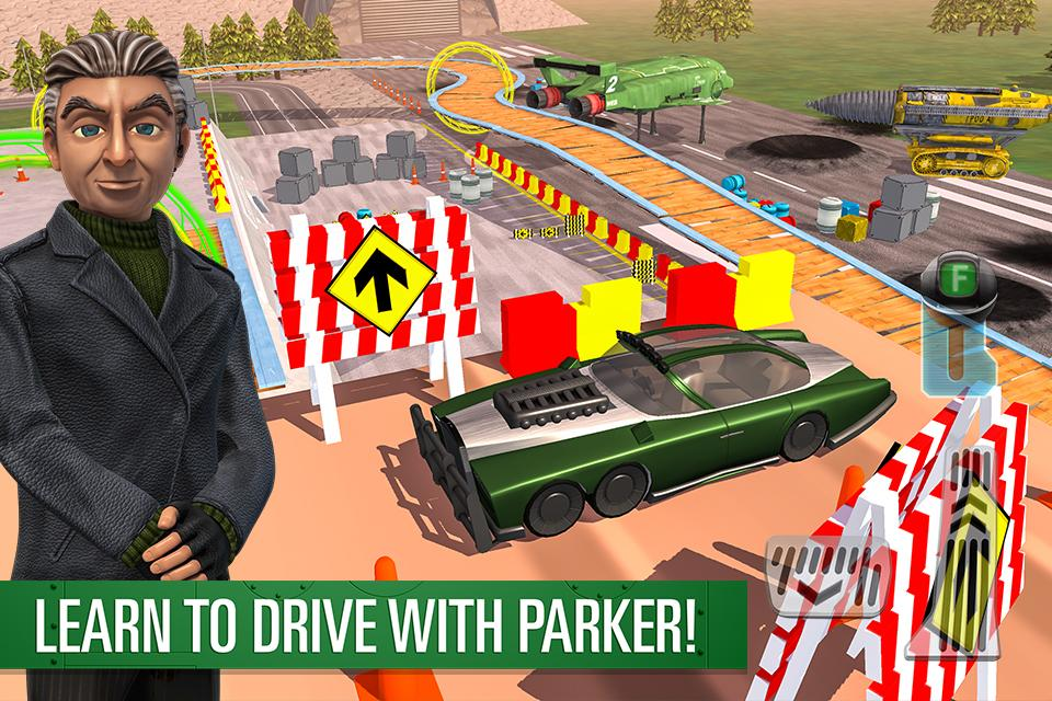 Parker's Driving Challenge- screenshot