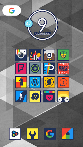 لالروبوت Aolix - Icon Pack تطبيقات screenshot