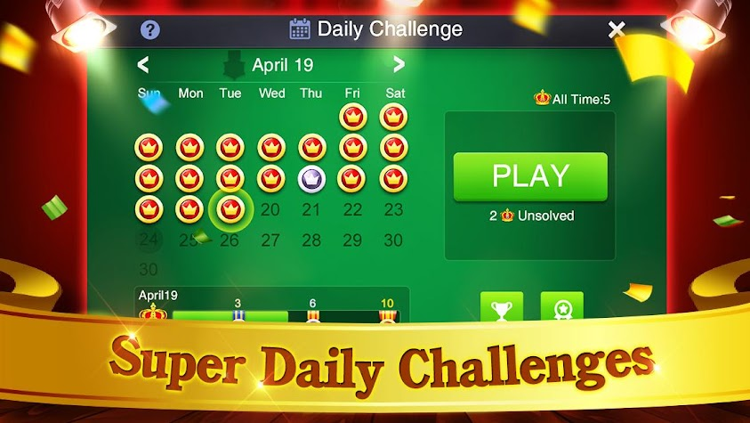 Solitaire: Super Challenges Screenshot