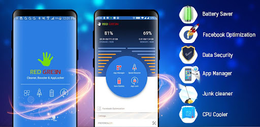 Best Android Cleaner And Optimizer 2020 RedGreen – Cleaner, Booster & AppLocker   Apps on Google Play