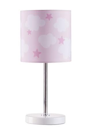 Kid's Concept Bordslampa Star, Rosa Moln