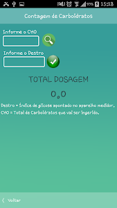 DietApp Carboidratos screenshot 1
