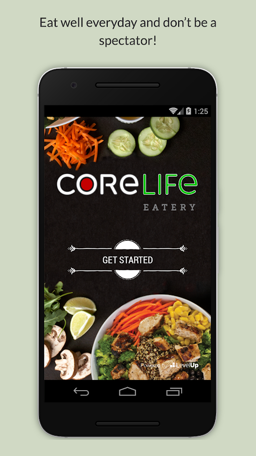CoreLife Ascend- screenshot